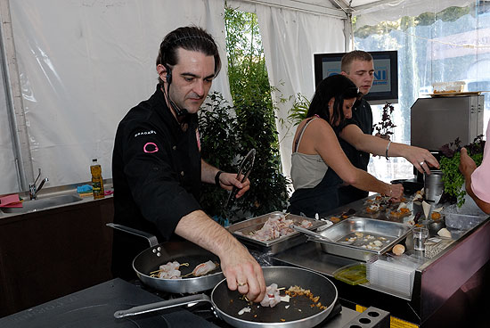 Xavier pauly au festival international de la gastronomie for Cuisine xavier laurent